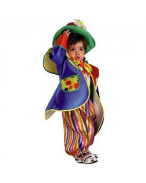 CLOWN 96112 costume baby clown fiorello 12 mesi