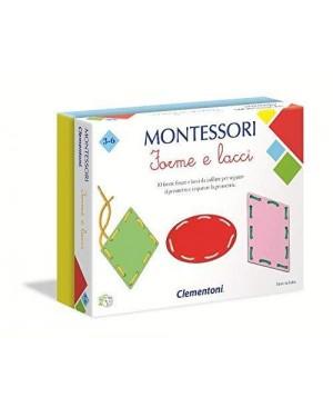 CLEMENTONI 16102.7 clement montessori - forme lacci