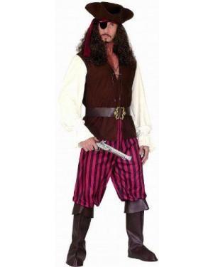 Costume Pirata M Con Accessori