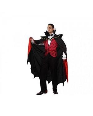 ATOSA 12262 costume vampiro rosso dracula t-3