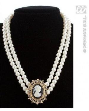 widmann 7535q collane di perle con cameo