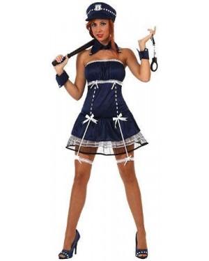 Costume Polizia Sexy, Adulto T-3