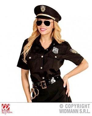 Costume Poliziotta M Camicia-Cappello
