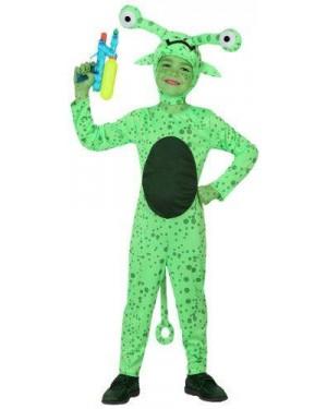 Costume Alieno Tg 4 Bambino