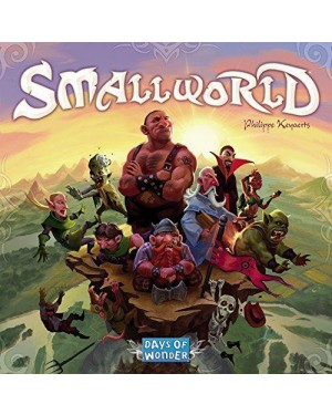 ASMODEE 8810 asmodee board small world 8+ (2-5)