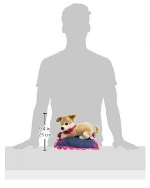 VENTURELLI 770404 peluche barbie pets sul cuscino