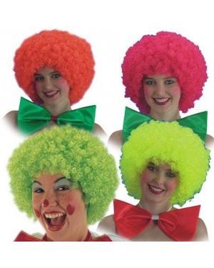 CARNIVAL TOYS 02221 parrucca clown fluorescente col.assort.