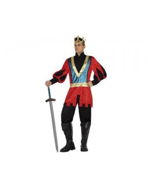 ATOSA 18311 disfraz re medievale, adulto t2 m\l