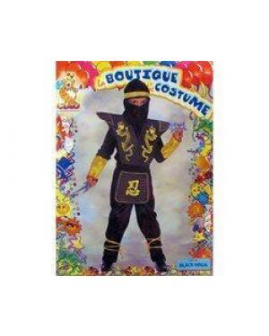 CIAO 18160 costume black ninja 8/10