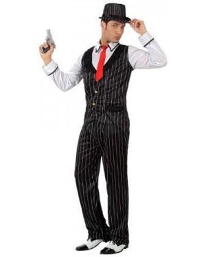 Costume Mafioso C/Gilet T-3 Gangster
