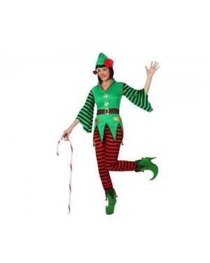 Costume Elfo Donna T-2