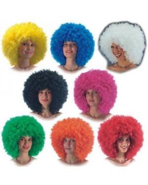 carnival toys 02285 parrucca super ricciolona col. assortiti
