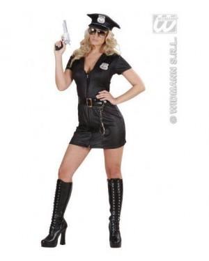 WIDMANN 77381 costume poliziotta s vestito,cintura ,cappello
