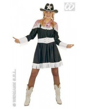 Costume Country Western M Donna Con Cinture