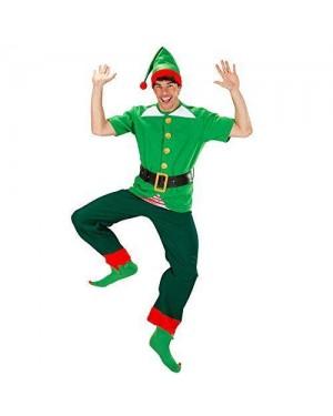 WIDMANN 7593E costume elfo xl aiutante babbo natale