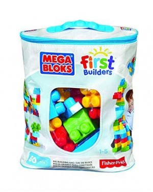 FISHER-PRICE DCH55 megabloks first builders sacca blu #cyp67