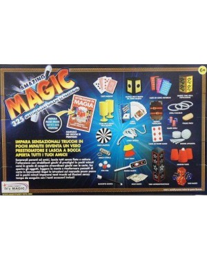 giocheria hdg8902 scatola magia amazing 325 trucchi di magia