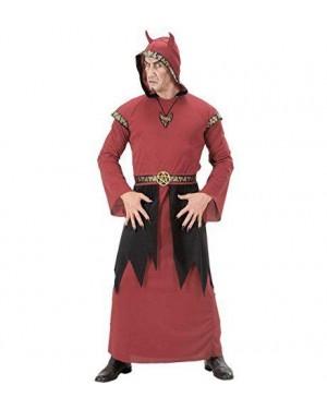 Costume Satana S Tunica Con Cappuccio