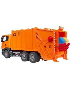 bruder 03560 bruder  scania r-series camion di immondizia