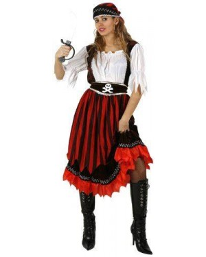 ATOSA 95549.0 costume da pirata, a righe. t-2