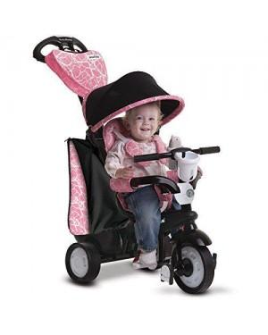 giochi preziosi ofr8100200 triciclo smart trike dream rosa 4 in uno