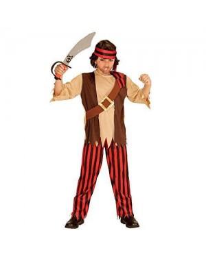 Costume Pirata 11/13 Camicia +Pantal +Fascia