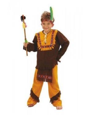 Costume Indiano Lusso 10 Anni Panno