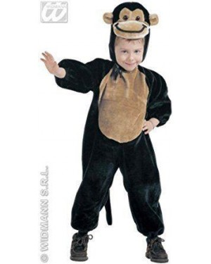 Costume Peluche Scimmietta 1/2 Anni