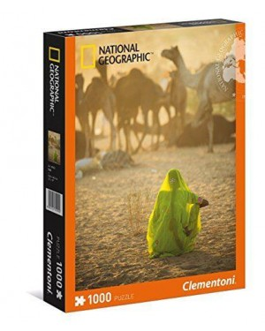 CLEMENTONI 39302 puzzle 1000 donna indiana national geographic