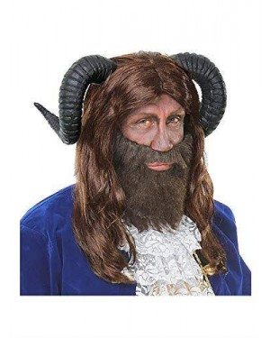 WIDMANN 09718 parrucca bestia con corna