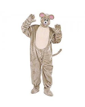 Costume Topo In Peluche Con Guanti, Copriscarpe, M