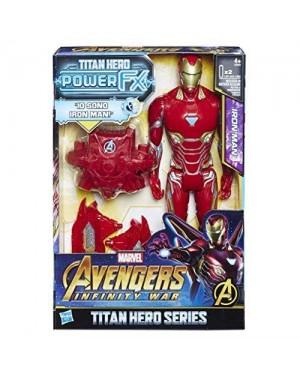 HASBRO E06061030 avengers pers titan 30cm infinity iron man +zaino