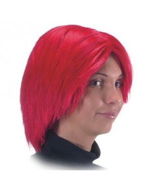 carnival toys 02374 parrucca caschetto rossa little girl