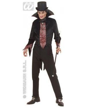 Costume Vampiro M Giacca A Fibre Ottiche