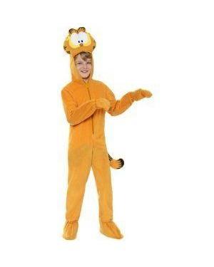 Costume Garfield M 7/8 Anni