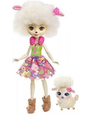 MATTEL FNH25 enchantimals lorna lamb bambola +cucc #fnh22