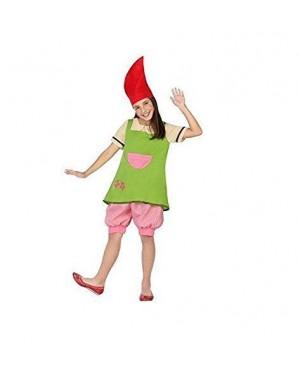 ATOSA 28389 costume folletto bimba t4 10-12 anni