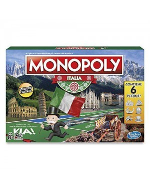 HASBRO c1817103 gioco monopoly italia