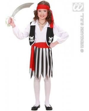 Costume Piratessa 140Cm 8/10