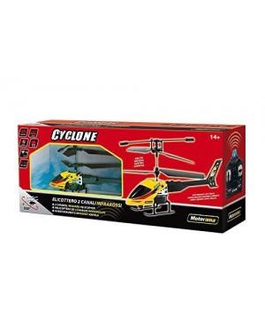 DAL NEGRO 93660 cyclone elicottero r/c infra giallo