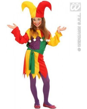 Costume Jolly Jester 128Cm 5/7
