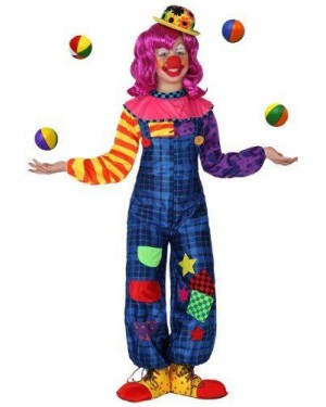 ATOSA 16036 costume clown bambina t-1