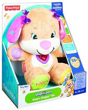 fisher-price cgr44 fisher-price sorellina cagnolino smart stages