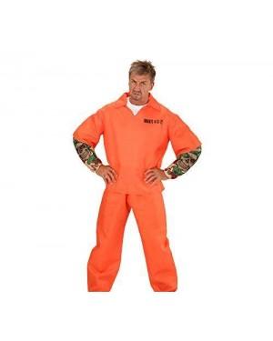WIDMANN 00644 costume carcerato tatuato c/muscoli xl