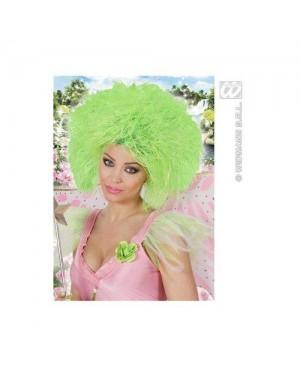 WIDMANN 6393G parrucche fatina verde fluorescente-sacchetto