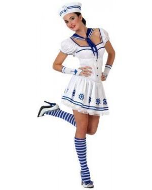 Costume Marinaia Bianco T-2