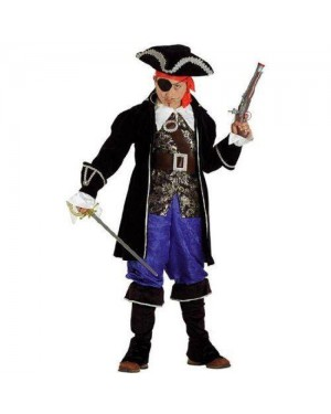 CLOWN 60208 costume pirata barbanera 8 anni
