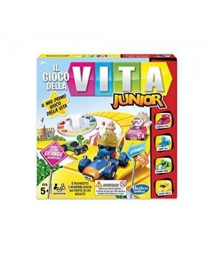 HASBRO B0654103 hasbro gioco da tavolo gioco della vita junior