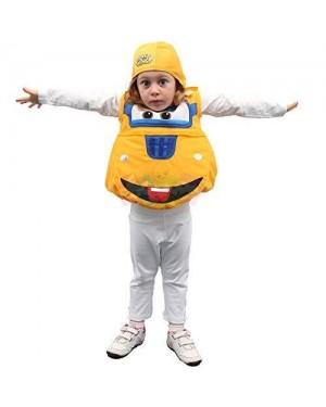 GIOCOPLAST 44193 costume superwings donnie giallo 3/4