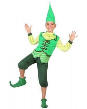 ATOSA 23685 costume folletto, bambino t3 7-9 anni